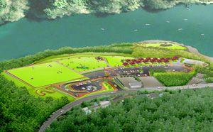梅田台緑地計画パース