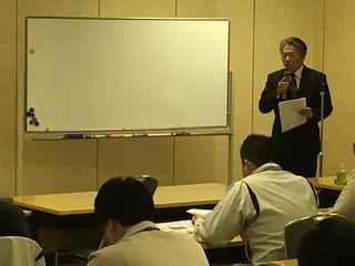 (画像:森理事長挨拶)