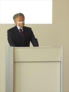 (画像:森社長挨拶)